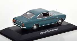 Opel  - Rekord C 1966 blue - 1:43 - Maxichamps - 940046121 - mc940046121 | Tom's Modelauto's