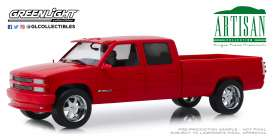 Chevrolet  - 3500 1997 red - 1:18 - GreenLight - 19073 - gl19073 | Toms Modelautos
