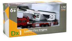 Fire Engines  - Dx1 Ladder red/white - 1:50 - Tiny Toys - ATC64013 - tinyATC64013 | Toms Modelautos