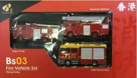 Fire Engines  - Bs03 Fire Vehicle red - Tiny Toys - ATBS203 - tinyATBS203 | Tom's Modelauto's