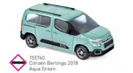Citroen  - Berlingo 2018 green - 1:43 - Norev - 155760 - nor155760 | Toms Modelautos