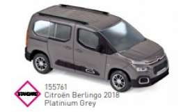 Citroen  - Berlingo 2018 grey - 1:43 - Norev - 155761 - nor155761 | Toms Modelautos