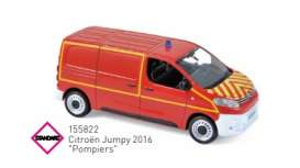 Citroen  - Jumpy 2016 red - 1:43 - Norev - 155822 - nor155822 | Toms Modelautos
