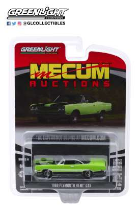 Plymouth  - HEMI 1969 green - 1:64 - GreenLight - 37190C - gl37190C | Toms Modelautos