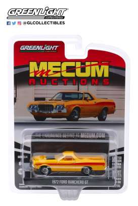Ford  - Ranchero 1972 yellow - 1:64 - GreenLight - 37190D - gl37190D | Toms Modelautos