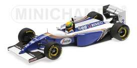 Williams  - 1994 white/blue - 1:18 - Minichamps - 540941821 - mc540941821 | Tom's Modelauto's