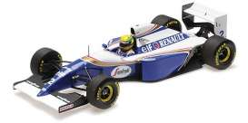 Williams  - 1994 white/blue - 1:18 - Minichamps - 540941832 - mc540941832 | Tom's Modelauto's