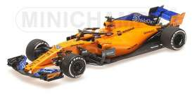 McLaren Renault - MCL33 2018 yellow-orange - 1:18 - Minichamps - 537183955 - mc537183955 | Tom's Modelauto's