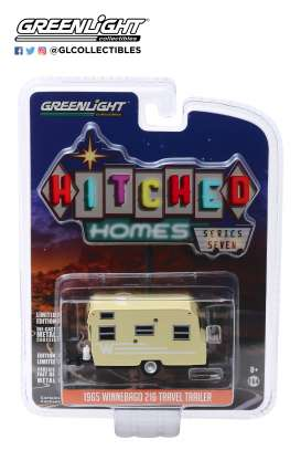 Winnebago  - 1965 yellow/white - 1:64 - GreenLight - 34070B - gl34070B | Tom's Modelauto's