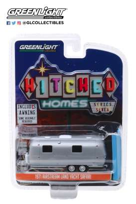 Airstream  - 1971 grey - 1:64 - GreenLight - 34070C - gl34070C | Tom's Modelauto's