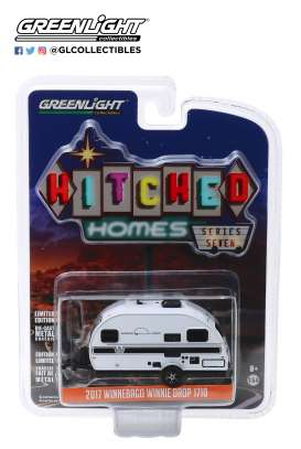 Winnebago  - 2017 white/black - 1:64 - GreenLight - 34070D - gl34070D | Tom's Modelauto's