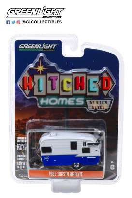 Shasta  - white/blue - 1:64 - GreenLight - 34070F - gl34070F | Tom's Modelauto's