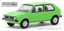Volkswagen  - Rabbit 1975 green - 1:64 - GreenLight - 29980D - gl29980D | Toms Modelautos