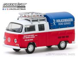 Volkswagen  - Type 2 1976 white/red - 1:64 - GreenLight - 29980E - gl29980E | Toms Modelautos