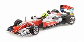 Dallara Mercedes Benz - F317 2018 red/white - 1:43 - Minichamps - 517184304 - mc517184304 | Toms Modelautos