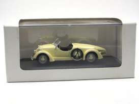 Mercedes Benz  - 1935 beige - 1:43 - Whitebox - WBmb150 | Toms Modelautos