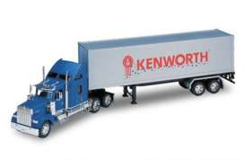 Kenworth  - blue/grey - 1:32 - Welly - 32663 - welly32663 | Toms Modelautos