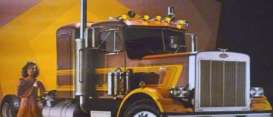 Peterbilt  - 359 brown - 1:43 - IXO Models - tr013 - ixtr013 | Tom's Modelauto's