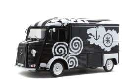 Citroen  - HY black/white - 1:18 - Solido - 1804812 - soli1804812 | Tom's Modelauto's