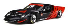 LB Works  - Miura black/red - 1:18 - GT Spirit - GTS033KJ-B - GTS033bkr | Toms Modelautos