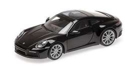 Porsche  - 911 2019 black - 1:87 - Minichamps - 870068321 - mc870068321 | Toms Modelautos