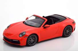 Porsche  - 911 2019 red - 1:87 - Minichamps - 870068332 - mc870068332 | Toms Modelautos