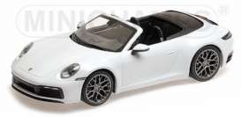 Porsche  - 911 2019 white - 1:87 - Minichamps - 870068330 - mc870068330 | Toms Modelautos