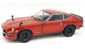 Nissan  - Fairlady Z S30 red - 1:18 - Kyosho - 8220rm - kyo8220r | Toms Modelautos
