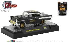 Chevrolet  - Bel Air Gasser 1957 black - 1:64 - M2 Machines - 31600GS04 - M2-31600GS04 | Toms Modelautos