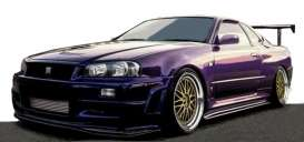 Nissan  - Nismo GT-R purple - 1:18 - Ignition - IG1832 - IG1832 | Toms Modelautos