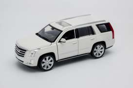 Cadillac  - 2017 white/cream - 1:24 - Welly - 24084w - welly24084w | Toms Modelautos