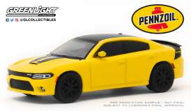 Dodge  - Charger 2017 yellow - 1:64 - GreenLight - 30112 - gl30112 | Tom's Modelauto's