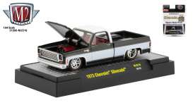 Chevrolet  - Silverado 1973 black/white - 1:64 - M2 Machines - 31500MJS16 - M2-31500MJS16 | Toms Modelautos