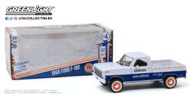 Ford  - F-100 1968 blue/white - 1:24 - GreenLight - 85052 - gl85052 | Toms Modelautos