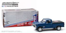 Ford  - F-100 1970 blue - 1:24 - GreenLight - 85053 - gl85053 | Toms Modelautos