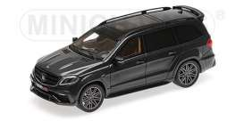 Brabus Mercedes Benz - 850 2017 black - 1:43 - Minichamps - 437037360 - mc437037360 | Toms Modelautos