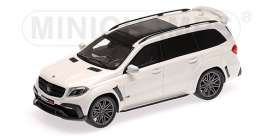 Brabus Mercedes Benz - 850 2017 pearl white - 1:43 - Minichamps - 437037361 - mc437037361 | Tom's Modelauto's