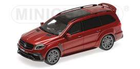 Brabus Mercedes Benz - 850 2017 red - 1:43 - Minichamps - 437037362 - mc437037362 | Tom's Modelauto's