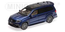 Brabus Mercedes Benz - 850 2017 dark blue - 1:43 - Minichamps - 437037364 - mc437037364 | Tom's Modelauto's