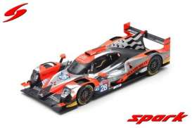 Oreca Gibson - 2019 black/red/white - 1:18 - Spark - 18s430 - spa18s430 | Toms Modelautos