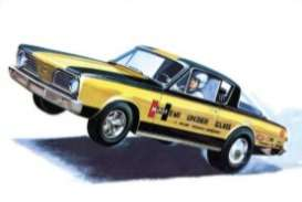 Plymouth  - Barracuda 1966  - 1:25 - AMT - s1153 - amts1153 | Toms Modelautos