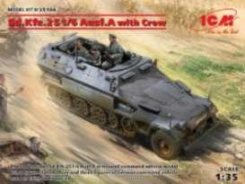 Military Vehicles  - Sd.Kfz.251/6  - 1:35 - ICM - 35104 - icm35104 | Tom's Modelauto's