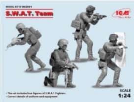 Figures diorama - S.W.A.T. Team  - 1:24 - ICM - DS2401 - icmDS2401 | Tom's Modelauto's