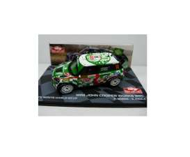 Mini  - Cooper Works WRC JCW 2012 green/white/black - 1:43 - Magazine Models - MagRfwpCooper2012 | Tom's Modelauto's