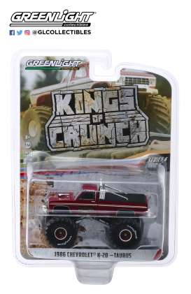 Chevrolet  - K20  1986  - 1:64 - GreenLight - 49060D - gl49060D | Toms Modelautos