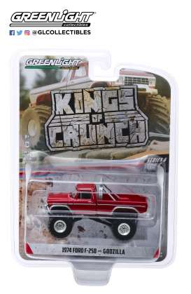 Ford  - F-250 Monster Truck 1974  - 1:64 - GreenLight - 49060E - gl49060E | Tom's Modelauto's