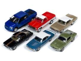Assortment/ Mix  - various - 1:64 - Auto World - 64232A~6 - AW64232A | Toms Modelautos