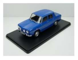 Renault  - 1968 blue - 1:24 - Magazine Models - 24RE8 - mag24RE8 | Toms Modelautos