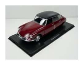 Citroen  - DS 19 1957 black/red - 1:24 - Magazine Models - 24ciDS - mag24ciDSr | Toms Modelautos