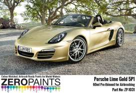 Zero Paints Paint - Lime Gold - Zero Paints - zp-1031LGold - ZP1031LGold | Toms Modelautos